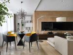 [住宅]简约主义莫斯科郊外现代私人住宅设计效果图