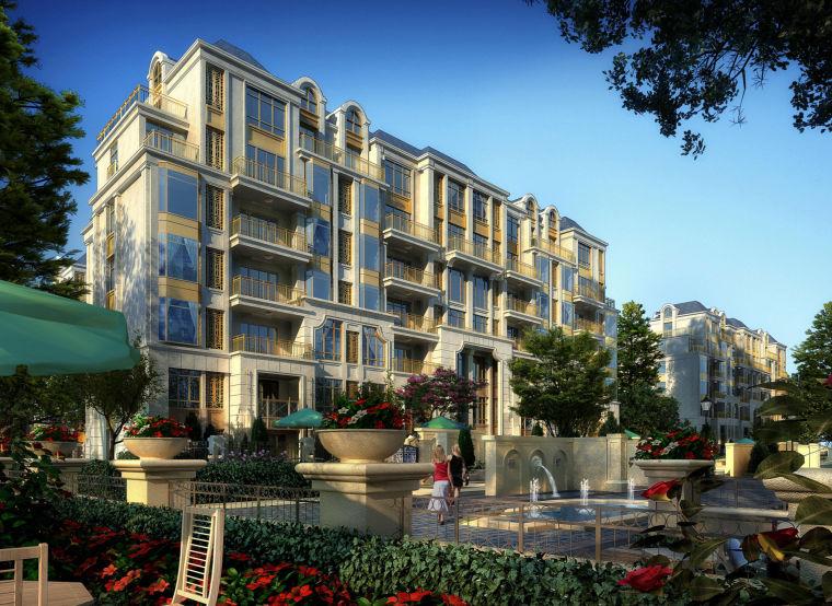 [上海]嘉定老城区菊园项目建筑设计方案文本