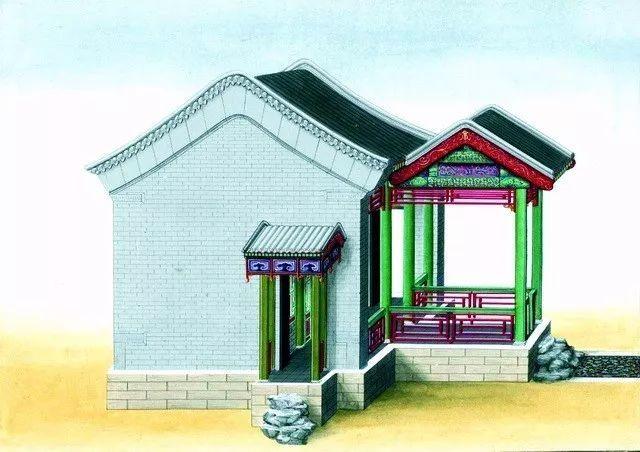 另一个视角:外国人画笔下的中式古典建筑_17