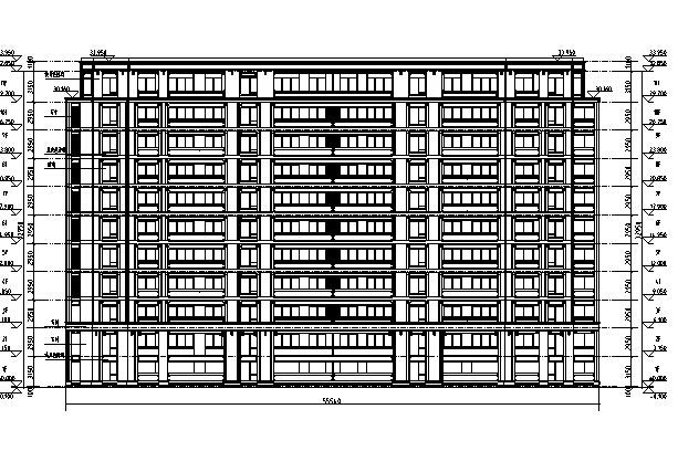 [浙江]绿城住宅及商业、幼儿园建筑施工图(含效果图)