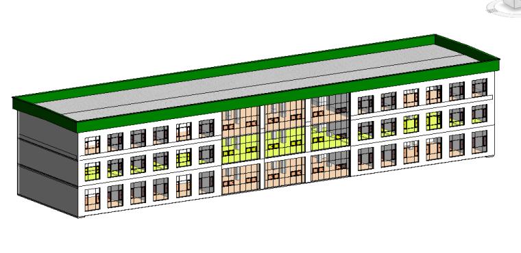 第八次作业屋面2%反水、屋面厚度、返水方向、族构建女儿墙_1