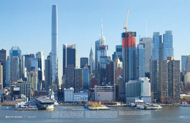 265 W 45th ST 办公塔,美国纽约