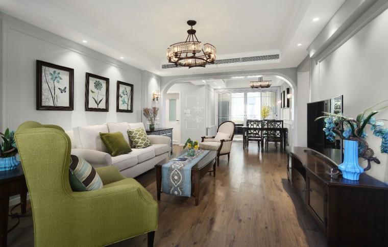 大华阅江山简约美式住宅设计案例分享