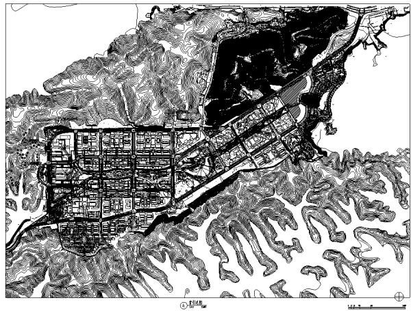 [浙江]城市中心主干道生态道路景观带改造设计全套施工图