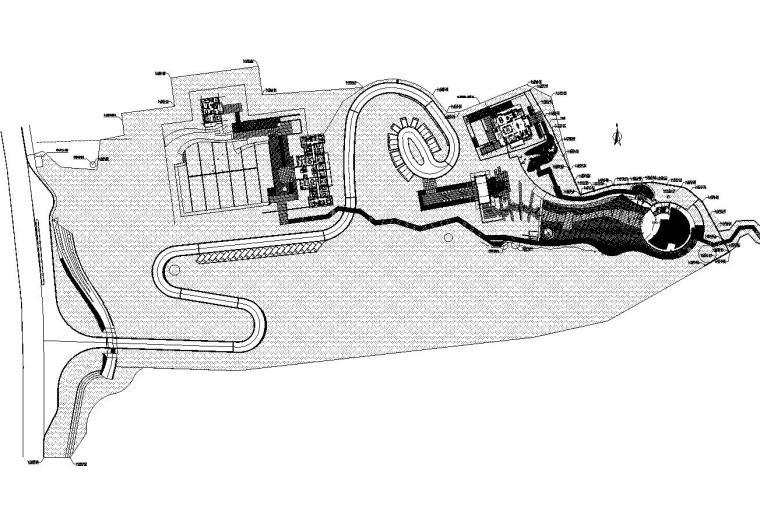 [重庆]龙湖舜山府居住区施工图设计(园建|CAD)含su模型,植物设计,给排水