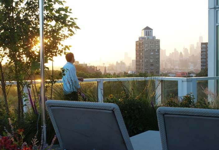 郁郁葱葱的屋顶花园-4