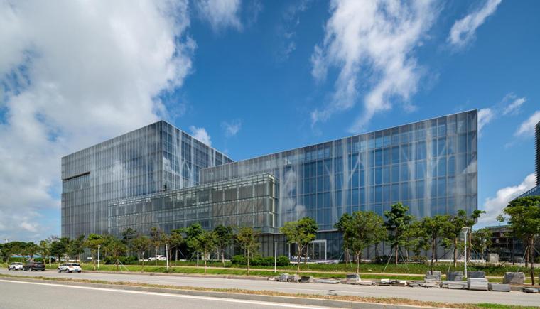 珠海天圆地方概念的医药科技产业园总部大楼-2