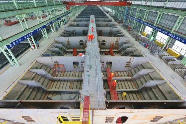 港珠澳大桥钢箱梁原来是这样建成的!_14