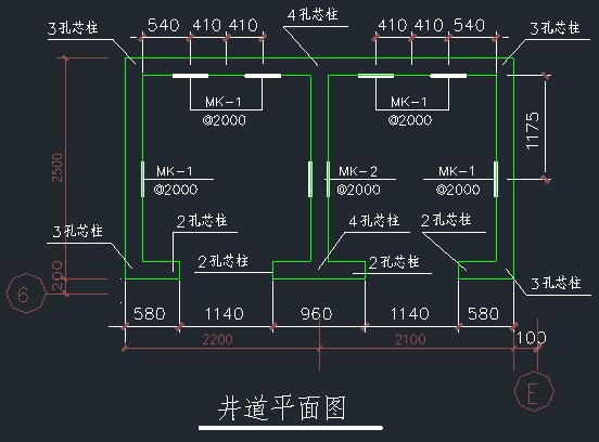 电梯井道结构施工图_3