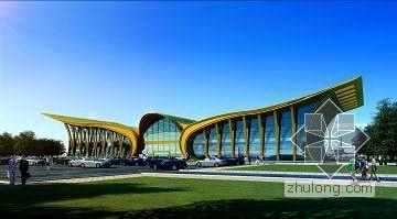 张家口某机场航站楼工程施工组织设计