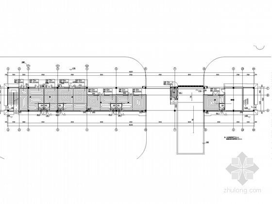 [河北]多层商业网服务中心采暖通风系统设计施工图