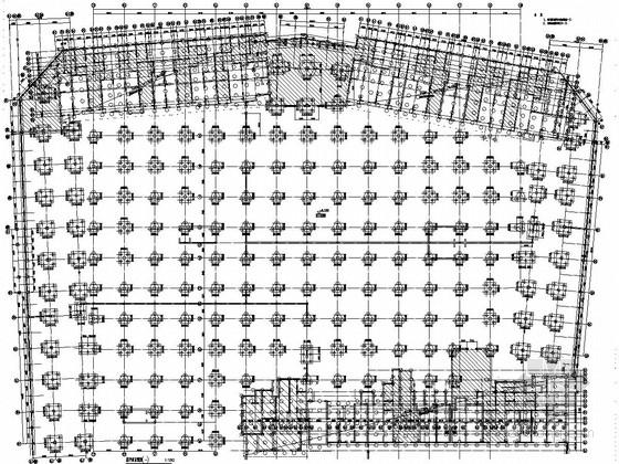 [辽宁]大型住宅小区地下室结构施工图