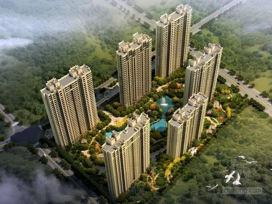 [安徽] artdeco风格高层住宅区规划设计方案文本(知名地产 含CAD)