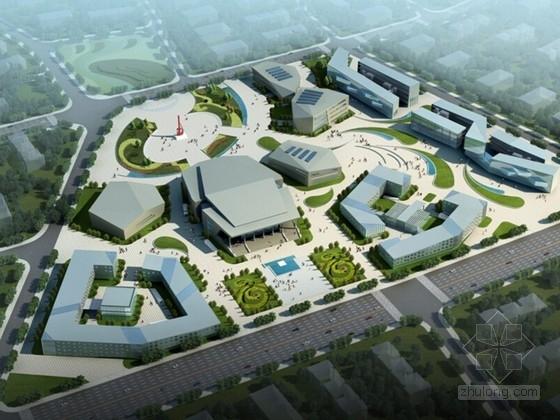 [四川]现代城市综合体建筑设计方案文本