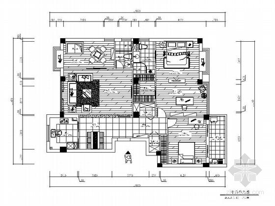[温州]现代典雅三室两厅装修图(含效果)