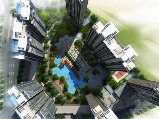 [安徽]某小区规划及建筑单体设计方案文本(含动画)