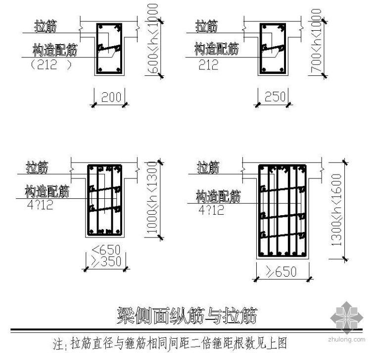筏板基础梁平面表示法说明
