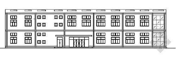 学校食堂建筑施工图