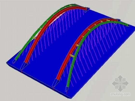 提篮式方箱拱桥钢结构安装施工组织方案