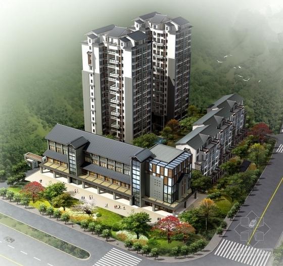 [四川]中式风格住宅区规划及单体设计方案文本(含CAD,精品资料,附图丰富)