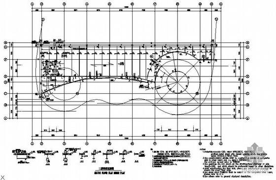 奥运期间某公司展示中心钢结构图纸
