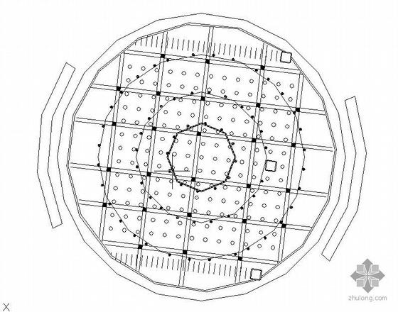 小型旱喷广场施工图全套
