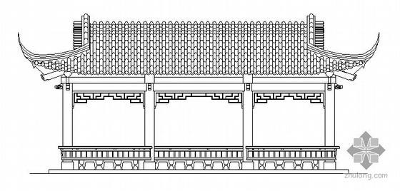 [徐州市]某市水榭建筑施工图