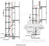 北京某高层办公楼脚手架施工方案(斜拉式悬挑、落地式脚手架)