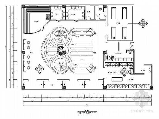 某洗浴中心浴区设计装修图