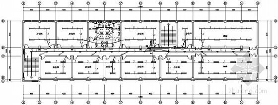 三类建筑四层办公楼电气施工图