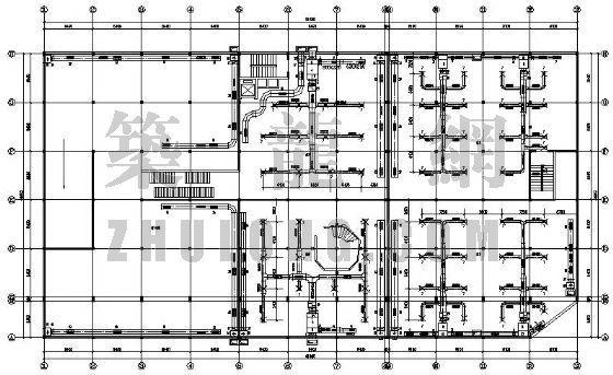 某超市中央空调设计图