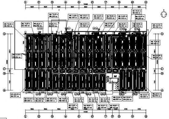 某展厅地板辐射采暖设计图