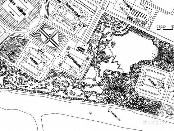 [湖州]某校园景观施工图设计