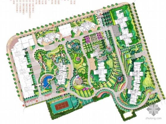 上海楼盘景观设计方案