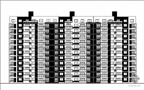 [江苏南通]某地块住宅小区7号楼建筑结构水电消防施工图