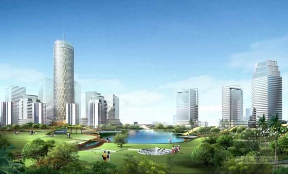 [台州]中心公园景观规划设计方案