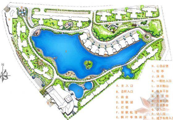 广东深圳小区景观设计方案图片