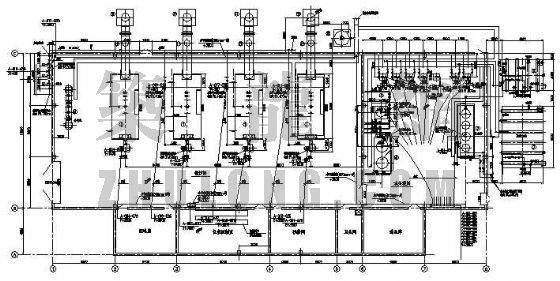 电缆桥架及配管配线平面图