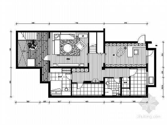 [台湾]某三层住宅室内设计图