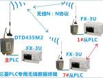 8台FX3U三菱PLC的网络化无线通讯方案