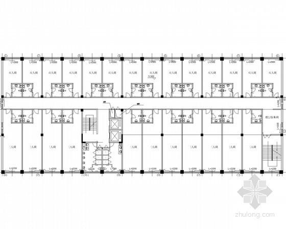 多层综合大楼散热器采暖系统设计施工图