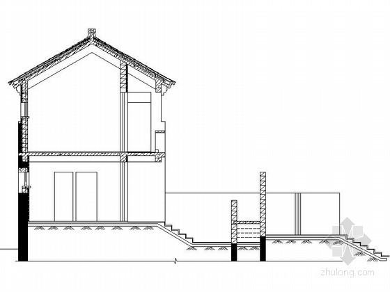 [北京]平谷某二层中式别墅建筑扩初图(191平方米、A型)