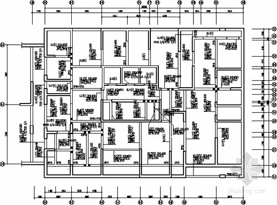 38层塔式+24层板式剪力墙结构施工图