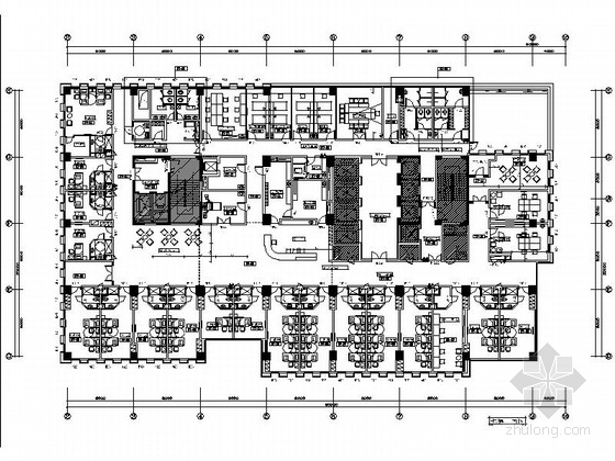 [山东]现代国际康复医院室内设计施工图