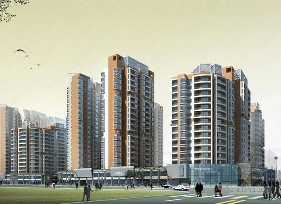[浙江]3栋住宅楼土建工程量计算及预算书(含建筑结构施工图纸)