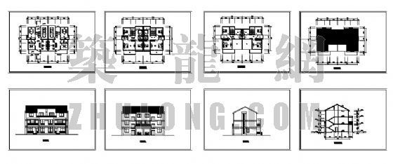 小康农居建筑设计方案4-4