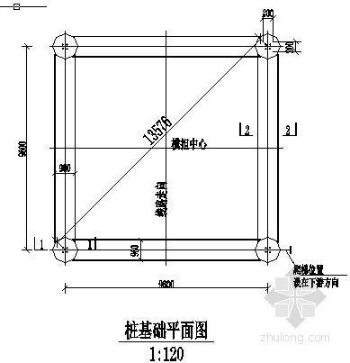 某结构基础工程钻孔灌注桩及弹性连梁设计图