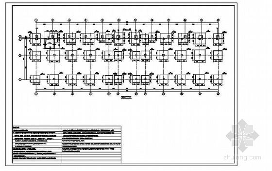 6层框架结构办公楼结构施工图