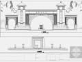 广州房产小区大门及湖岸环境设计