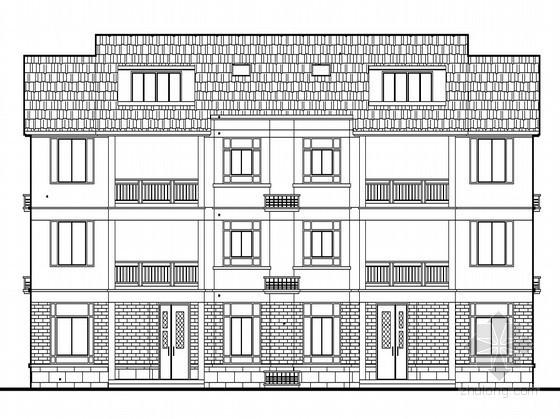 [慈溪市]某村民三层住宅通用建筑施工图